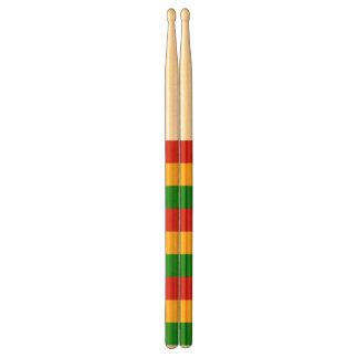 RASTAFARI FLAG COLORS + your ideas Drum Sticks