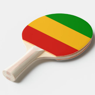 RASTAFARI FLAG COLORS + your ideas Ping Pong Paddle