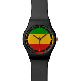 RASTAFARI FLAG COLORS + your ideas Watch
