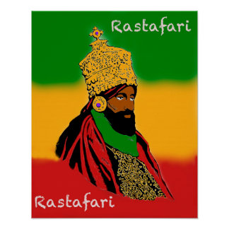 Rastafari Majesty Poster