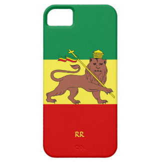 Rastafari Reggae Music Flag iPhone 5 Case