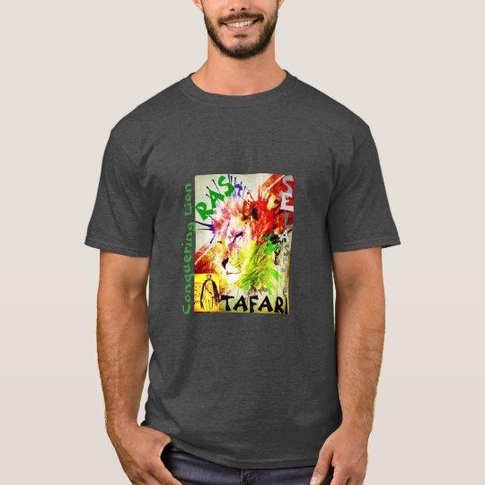 Rastafari Selassie Lion of Judah T-Shirt