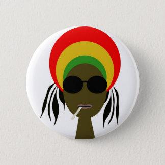 rastafarian 2 inch round button