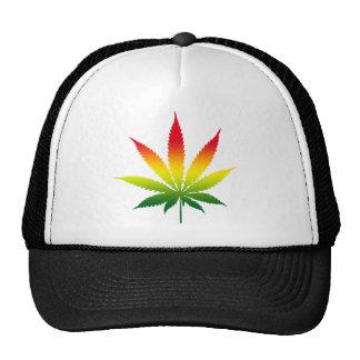 Rastafarian Cannabis Trucker Hat