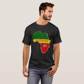 Rastafarian Designer Map Name Brand T-Shirt