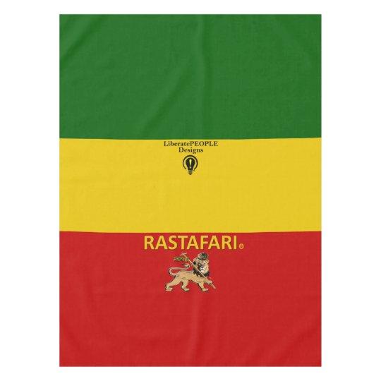 Rastafarian Designer Tablecloth