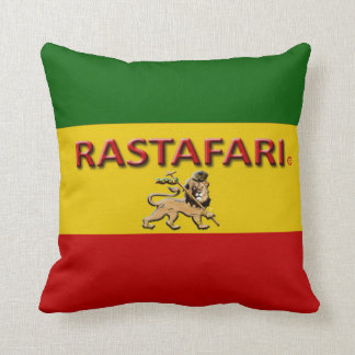 Rastafarian  Designer Throw or Lumbar Pillows