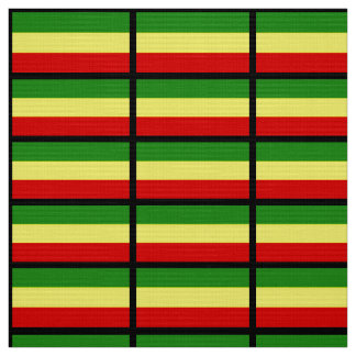 Rastafarian Flag Fabric