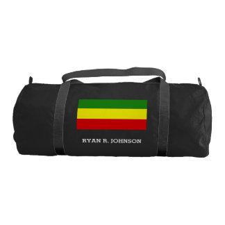 Rastafarian Pride Flag Gym Bag