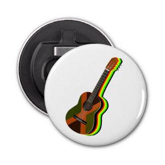 Rastafarian Reggae Guitar Bottle Opener