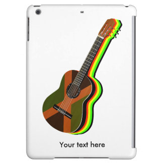 Rastafarian Reggae Guitar iPad Air Covers