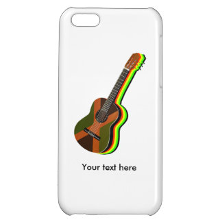 Rastafarian Reggae Guitar Jamaica iPhone 5C Case