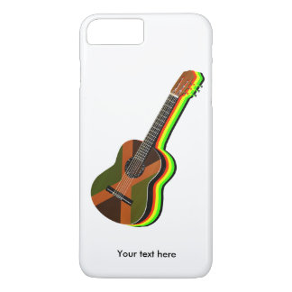 Rastafarian Reggae Guitar Jamaica iPhone 7 Plus Case