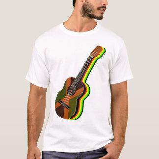 Rastafarian Reggae Guitar Jamaica T-Shirt