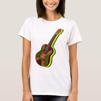 Rastafarian Reggae Guitar T-Shirt