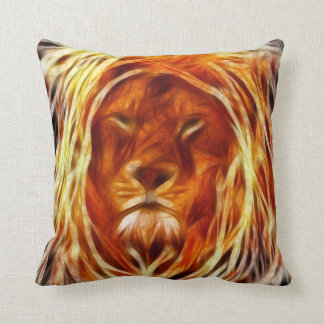 Rastalion Throw Pillow