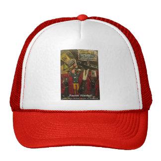 rastas wanted trucker hat