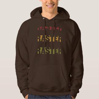 Raster rasta colors hoodie