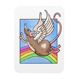 Rat Angel Magnet
