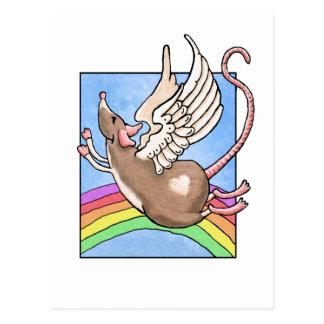 Rat Angel Post Card