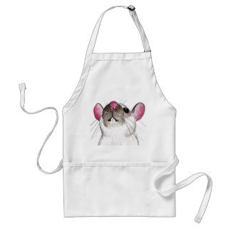 rat art - Himalayan rat apron