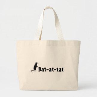 Rat-at-tat Tote Bag