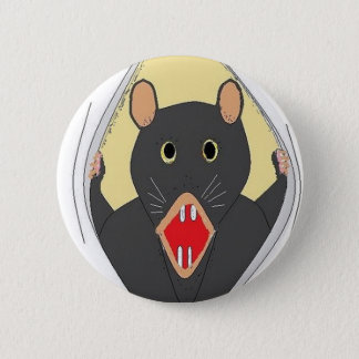 Rat Breaking Out 2 Inch Round Button