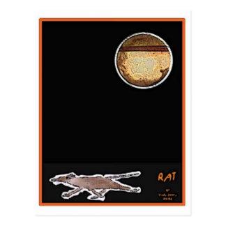 Rat Card Postcard