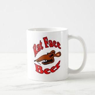 Rat Face Beer logo Shirt Coffee Mug