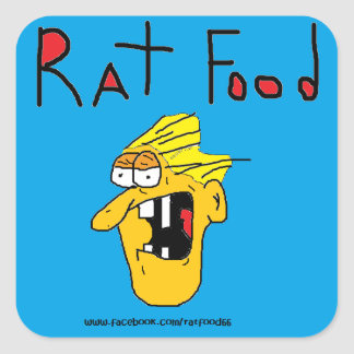RAT FOOD STICKER FOR WOUNDED WARRIOR PROJECT