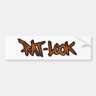 Rat Look Bumper Sticker