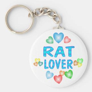 RAT LOVER KEYCHAIN