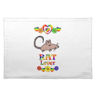Rat Lover Placemat