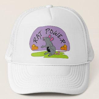 Rat Power Trucker Hat
