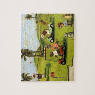 Rat Race 2 at the Golf Course Jigsaw Puzzle