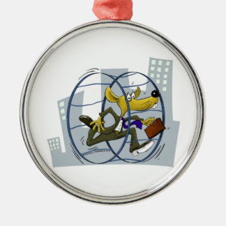 rat race metal ornament