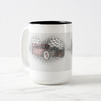 Rat Rod Two-Tone Coffee Mug