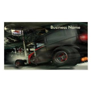 Rat Rodder Business Card Template