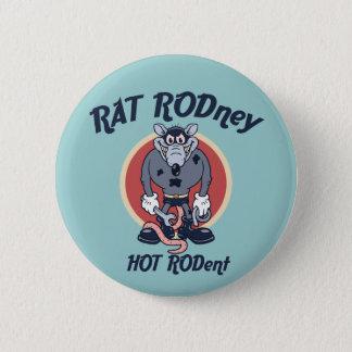 Rat Rodney 2 Inch Round Button