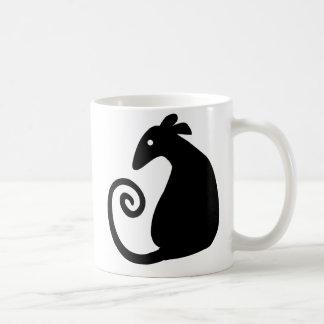 Rat Silhouette mug