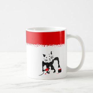 Rat Stencil Street Art Coffee Mug