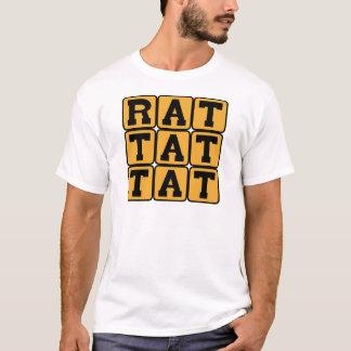 Rat Tat Tat, Drum Pattern T-Shirt