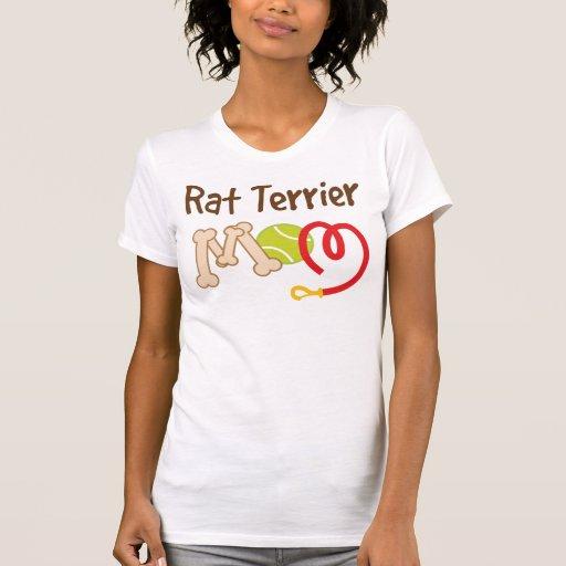 Rat Terrier Dog Breed Mom Gift Tee Shirt