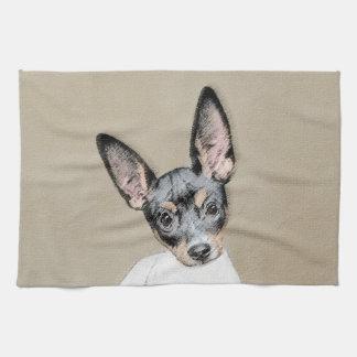 Rat Terrier Kitchen Towel