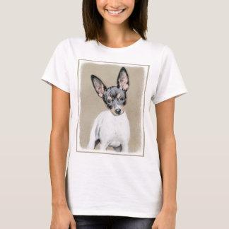 Rat Terrier Painting - Cute Original Dog Art T-Shirt