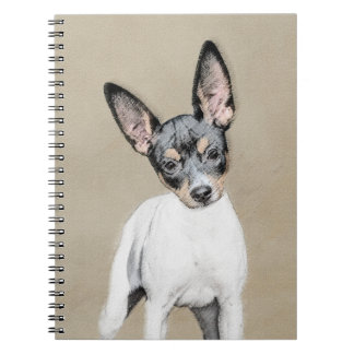 Rat Terrier Spiral Notebook