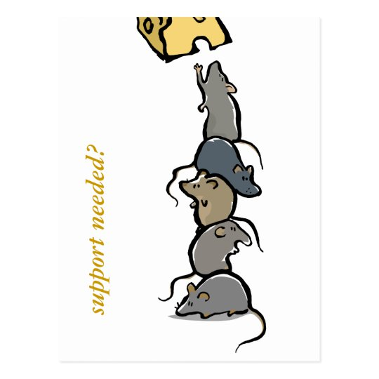 rat tower - customizable postcard