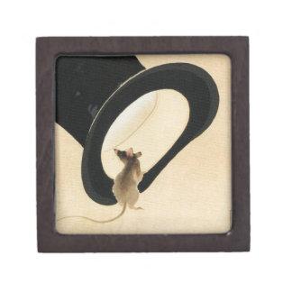 Rat Year 2020 Born in Rat Year Birthday 1 Premium Trinket Box