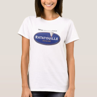 Ratatouille Movie logo Design Disney T-Shirt