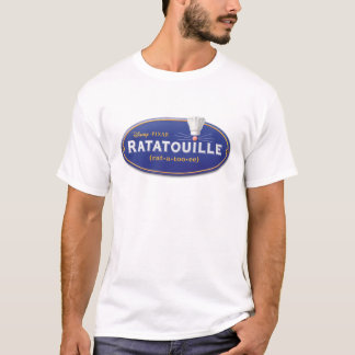 Ratatouille Movie Logo Disney T-Shirt
